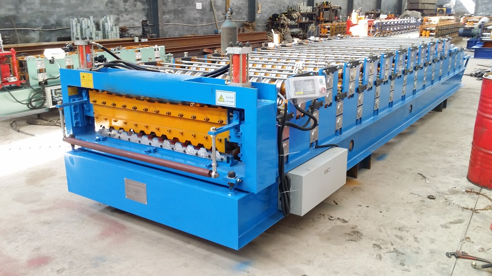 roll forming machine for building