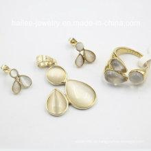 Wunderschöne Design Fashion Anhänger und Ohrringe Set Schmuck