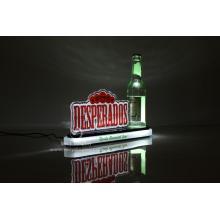 Acrylic led bottle glorifier