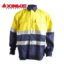 Chemises haute qualité en coton 100% résistant à la coupure