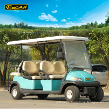 Оптовая 6 местный электрическая тележка гольфа для продажи 48В гольф-багги корзину аккумулятор электрический багги