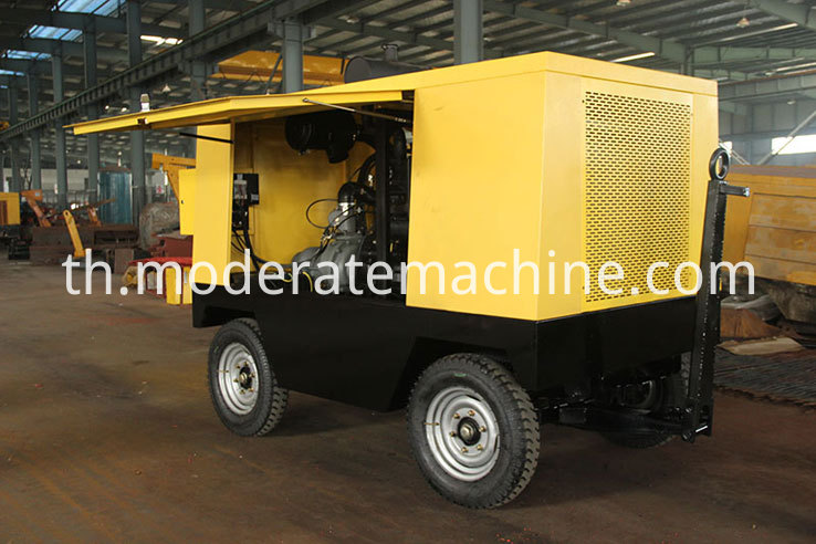 High-pressure-Diesel-Air-Compressor-110KW-Power