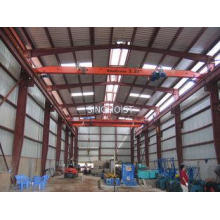 Heavy Duty Single Girder Overhead Crane With Monorail Wire