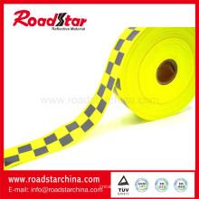 Vender pano de aviso de refletor de cor bem amarela