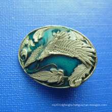 3D Die Casting Bronze Plated Lapel Pin Badge (GZHY-BADGE-025)