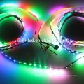 5M рулон 12V и 24V, 60 светодиодов/м Сид DMX гибкий RGB полосы света 5050