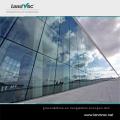 Vidrio de vacío de doble acristalamiento de alta transmisión del edificio comercial de Landglass