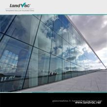 Verre à vide à double vitrage de transmission élevée de Commerial de bâtiment de Landglass