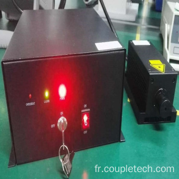 MP Passivement Q-switched Laser