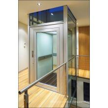 Acier inoxydable miroir gravure Accueil ascenseur