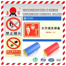 Tipo do animal de estimação anúncio qualidade reflexivo, filme de cobertura para cartazes publicitários aviso Board (TM3100)
