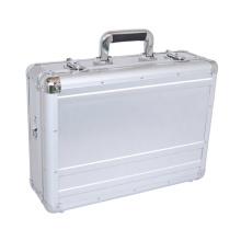 Matériau ABS en argent Étui petit rangement aluminium avec serrures