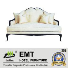 Star Hotel Grade Sofa Hotel Wartezimmer Sofa Set (EMT-SF27)