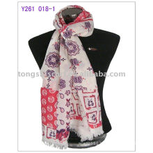 2013 newest 100%wool pashmina scarf