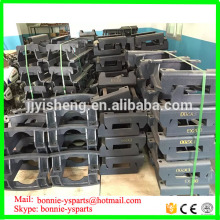 excavator track chain guard kobelco excavator track guide