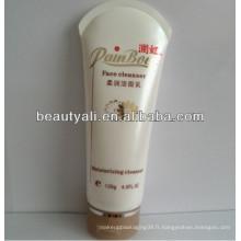 200 g d'emballage en cosmétique en tube blanc avec capuchon