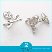 Top Verkäufer Silber Manschettenknopf für Mann (BC0023)