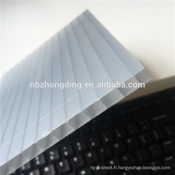 Panneau creux en polycarbonate ISO / CE / SGE 8 mm