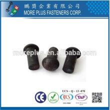 Taiwan Edelstahl 18-8 verchromter Stahl vernickelter Stahl Kupfer Messing DIN6791 DIN660 halb- und fester Niet