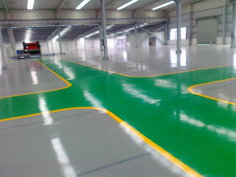 Wear Resistant Epoxy Mortar Floor Paint For Workshop
