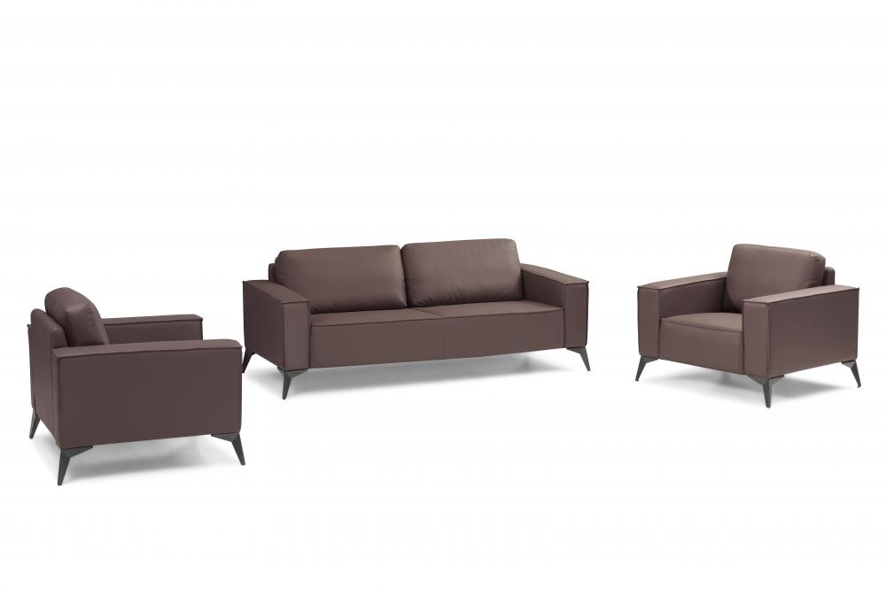leather sofa for office