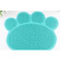 Anti slip dog bowl mat pet clean