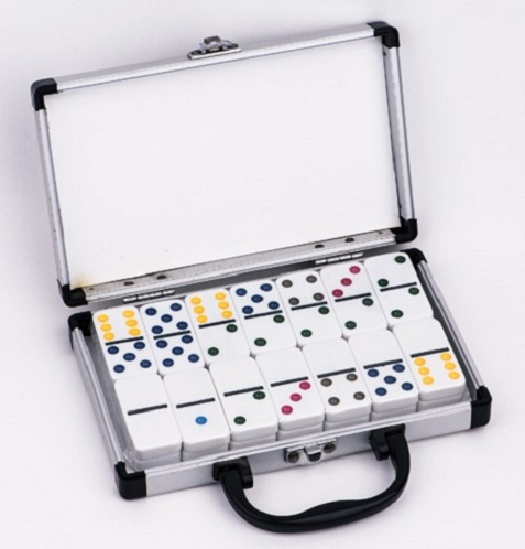 plastic domino game set