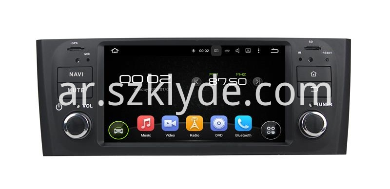 Fiat Linea android gps navigation (1)