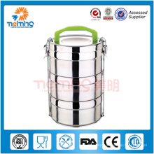 round insulated stainless steel food warmer container,food thermos