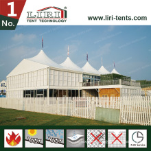 High Peak Double Decker Tent with ABS & Glass Wall