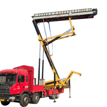 Tiles Roll Forming Machine Mobile Hydraulic Lifting Platform Used For Sale