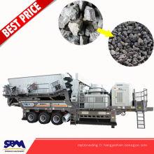 Craie, gypse, machine de concassage de brique d'application de calcaire utilisé au Kenya