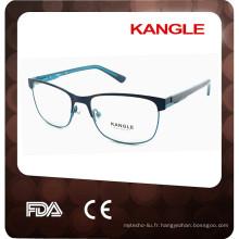 2017 nouveaux cadres optiques en métal de qualité supérieure pour unisexe, lunettes en métal, lunettes en métal