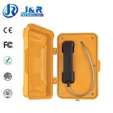 Прочный туннель Телефон, Влагозащищенные Телефоны для промышленности, поддержка VoIP/SIP-телефонов