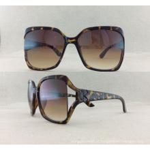Óculos de sol de quadro redondo de moda nova P02012