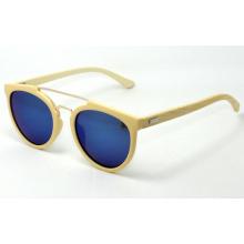 Echte Bambus-hölzerne Sonnenbrille, PC + Bambus-Sonnenbrille