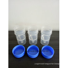 PP Medicine Bottle with Cap Mould