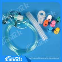 Medical Products Adjustable Venturi Mask with Six Diluters