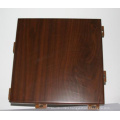 Wooden Coating Surface Solid Aluminum Sheet