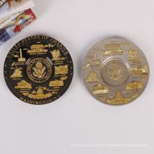Venda quente Preço de Fábrica Do Fabricante Recentemente Placa Comemorativa Simples