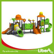 Vergnügungspark Tier Outdoor Spielplatz Ausrüstung für Kinder Animal Fairyland Serie LE-DW011
