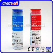 Joan Lab Blue & Red Micro Hematocrito Tubo de sangre capilar