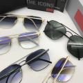 Óculos de sol polarizados para homens com lentes coloridas