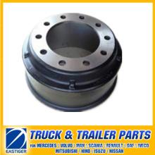 Peças de reboque do tambor de freio 66864 para BPW