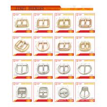 Accessoires pour sac en métal extracteur à fermeture à glissière en métal, boucle en métal, logo métallique pour sacs à main