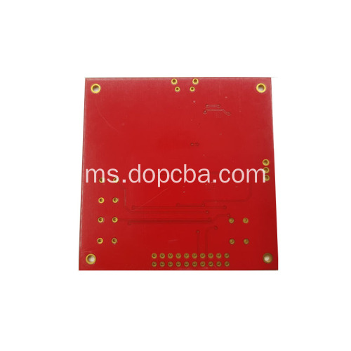 4layer Red Solder Mask Prototaip PCB Circuit Board