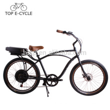 OEM cheap electric beach cruiser bike