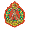 High Quality Custom Army Embroidery Badges