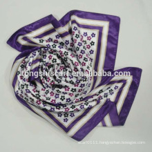 Womens printed satin shawl