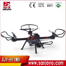 Survolez l'image pour zoomer JJRC-H11WH-2-4GHz-4CH-RC-Quadcopter-Wifi-Real-Time-Transmission-Drone-caméra JJRC-H11WH-2-4Ghz-4CH-RC
